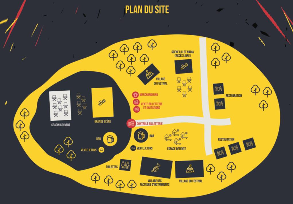 EFF Plan du site
